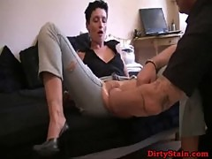 Horny Wife Gets Hard Fisted