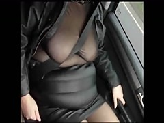 Leather Mini Skirt Black Seamed Stockings mature mature porn granny old cumshots cumshot