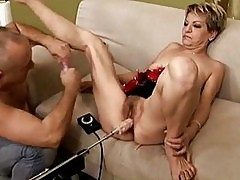 Granny fucking sex machine