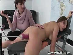 Horny Sex With Fuck Machine
