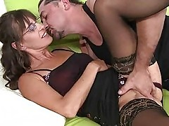Hot mature getting fucked pretty hard