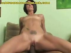 Brunette Mom Is Cuckolding Her Husband By Fucking A Black Cock